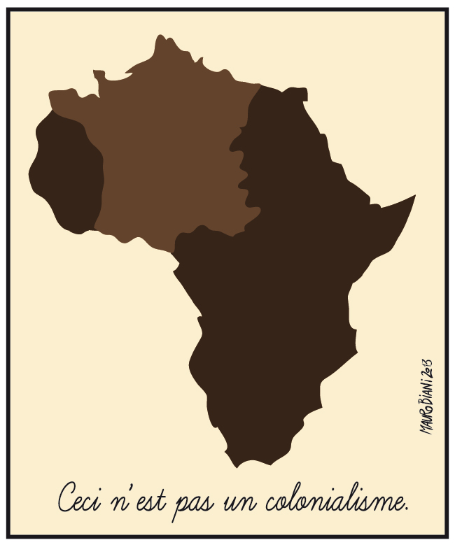 ceci ne pas un colonialisme