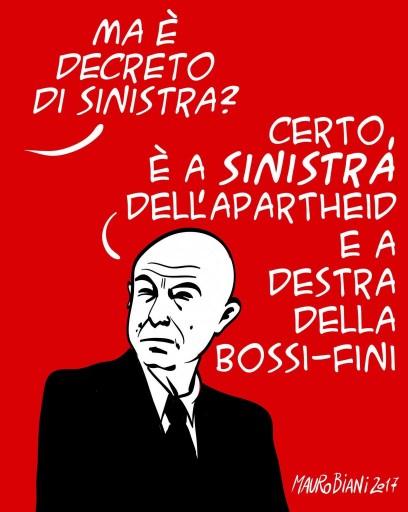 Caro ministro. Non è di sinistra copiare la destra... di Alessandro Dal Lago